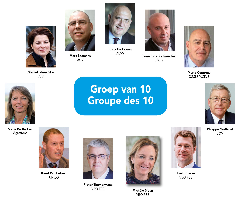 Voorzitter groep van 10